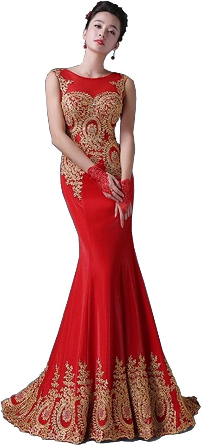 Mary Fast Shop Women Lace Maxi Long Dress Evening Prom Party Dress Embroidery Dress