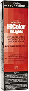 L'Oreal Excellence HiColor Red 1.2 oz (Pack of 3)