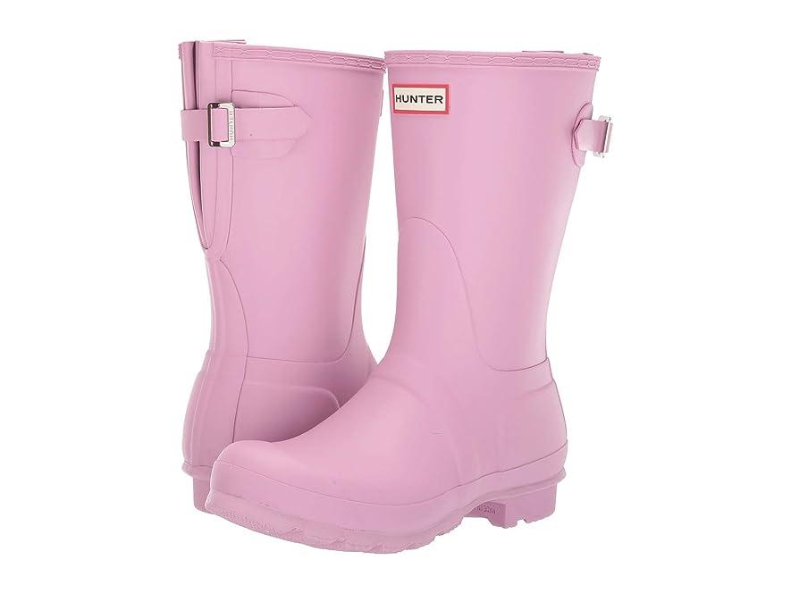 犯罪うなずく百年[ハンター] レディース ブーツ&レインブーツ Original Short Back Adjustable Rain Boot [並行輸入品]
