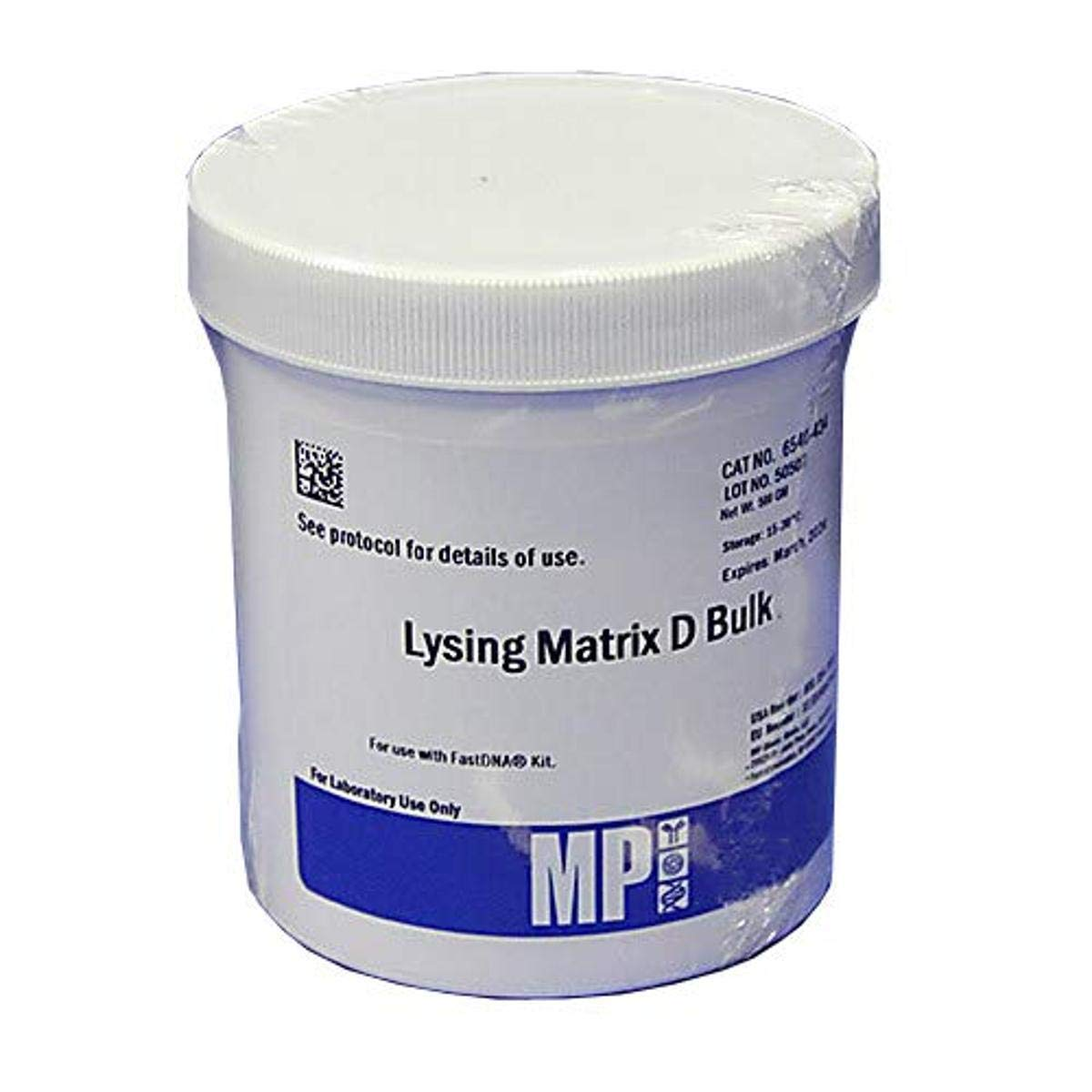 MP Biomedicals 116540434 Lysing Matrix 500g Reservation 2021new shipping free shipping Type Bulk D Weigh
