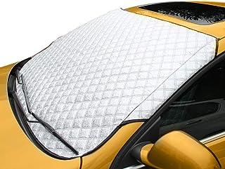 Autoscheibenabdeckung Frontscheibenabdeckung Sonnenschutz UV Schutz Abdeckung Schneeschutz Eisschutz Frostabdeckung (Größe 142 * 95)