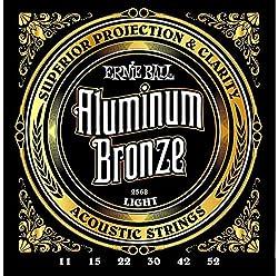 Ernie Ball Aluminum Bronze Light Strings Review