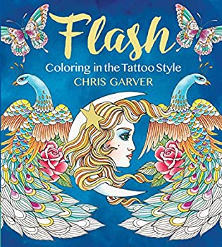 Flash  Coloring in the Tattoo Style