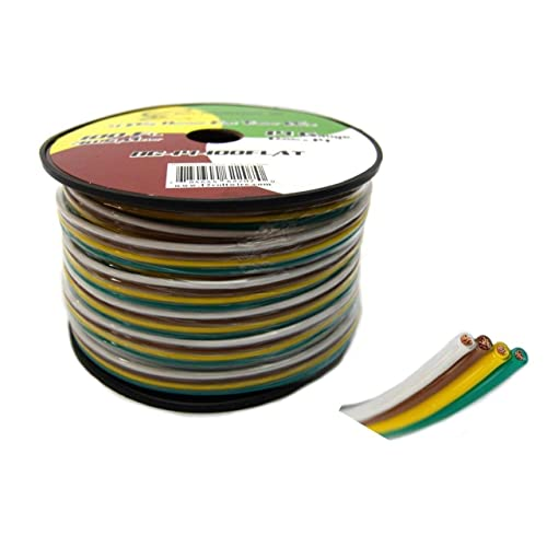 4 Wire Trailer Wiring: Amazon.com  Wire Trailer Wiring on