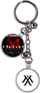 CHAIRAY Kpop Fashion Keychain Metal Key Ring with Picture and Logo