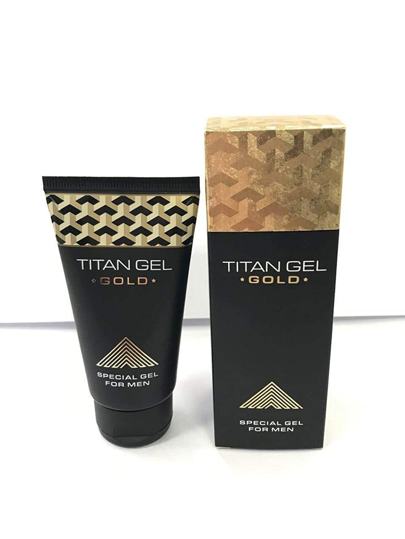 本物ハドル用心深いタイタンジェル ゴールド Titan gel Gold 50ml 3箱セット 日本語説明付き [並行輸入品]