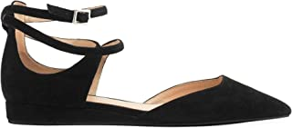 What For Luxury Fashion Womens EDITHBLCK Black Flats | Fall Winter 19