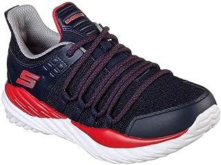 Skechers Kid's Nitro Sprint Boys Cross Training Shoes Navy/Red