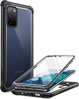 i-Blason Ares Series Designed for Samsung Galaxy S20 FE 5G Case (2020 Release), Dual Layer Rugged Clear Bumper Case with B...