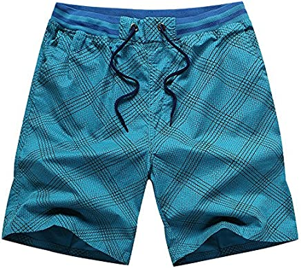 OME&QIUMEI Shorts Male Beach Pants Loose Leisure Sports Five  Minute Pants Male Summer Cotton Pants