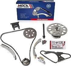 MOCA Timing Chain Kit with Cam Phaser Sprocket for 2005 GMC Envoy & Chevrolet Trailblazer & Saab 9-7X & Buick Rainier 4.2L L6