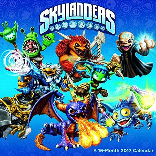 Skylanders 2017 Calendar