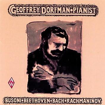 Busoni, Beethoven, Bach, Rachmaninov