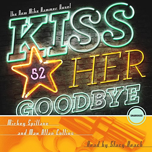 Kiss Her Goodbye audiobook cover art