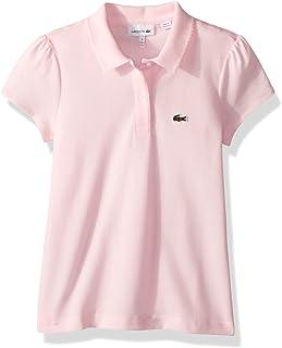 Lacoste Girls' Classic Short Sleeve Piqué Polo