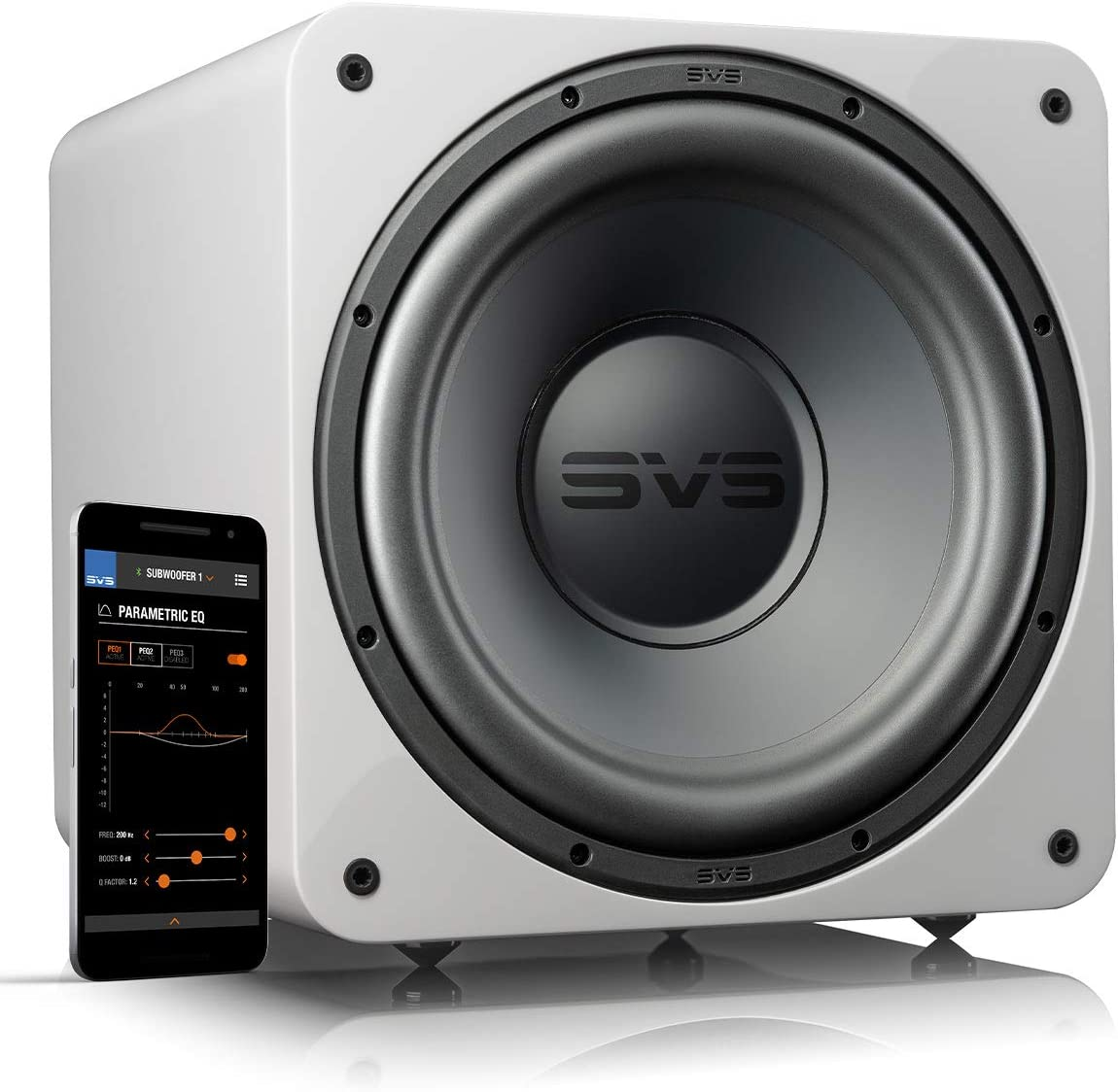 Buy SVS SB-1000 Pro Sealed Subwoofer (White Gloss) Online in Taiwan.  B08X51776X