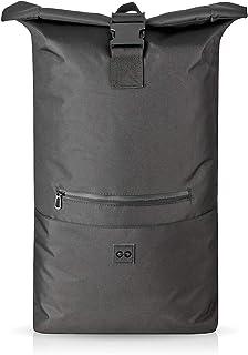 Roll-Top Mochila Hybrid 35L - Backpack Urbana para Uso Diario - Bolsa hidrófuga (Negro)