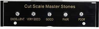 Refer to GIA Standard New Black Box Diamond CZ Cut Scale CZ Master Grading Set with Laser