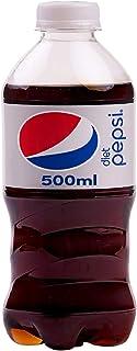 Pepsi Diet Soda Drink Bottle - 500 ml