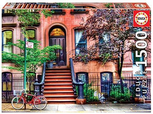 Educa - Greenwich Village, Nueva York Puzzle, 1500 Piezas, M