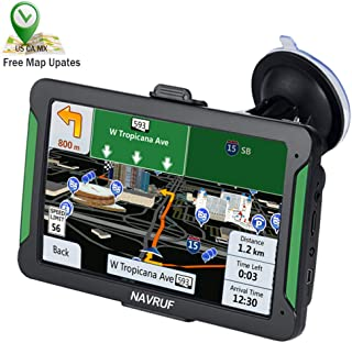 2019 New GPS Navigation for car Spoken Turn- to-Turn Traffic Alert GPS Navigator 7 inch Built-in 8GB, with Sun Shade &Lifetime Map Updates