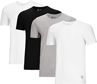 Vince Camuto Men's Cotton Crew Neck Tee T-Shirt Multi-Pack