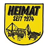 Toppa del Borussia Dortmund BVB (giallo) giallo. Taglia unica