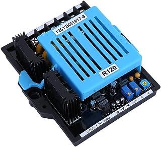 Yongenee Regulador de Voltaje del generador, 4A 277V 50 / 60Hz AC Estable Ajuste automático del regulador de Voltaje del generador AVR Indicador anormal de la monofásico Herramientas industriales