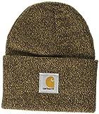 Carhartt Men's Knit Cuffed Beanie, Dark Brown/Sandstone, One Size