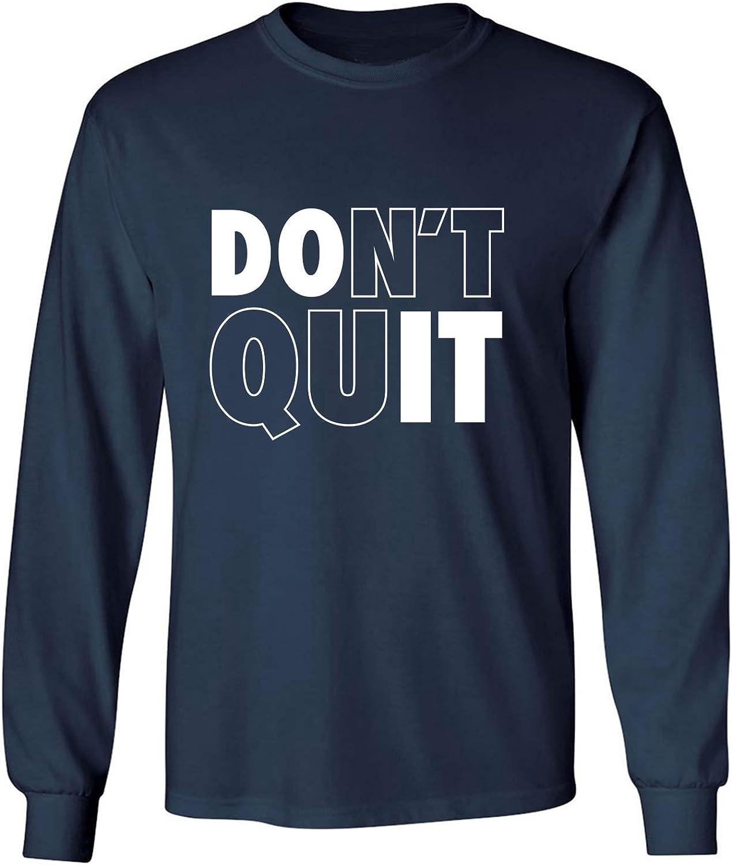 zerogravitee Don't Quit/Do It Adult Long Sleeve T-Shirt