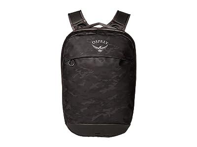 Osprey Transporter Panel Loader Pack (Camo Black) Backpack Bags