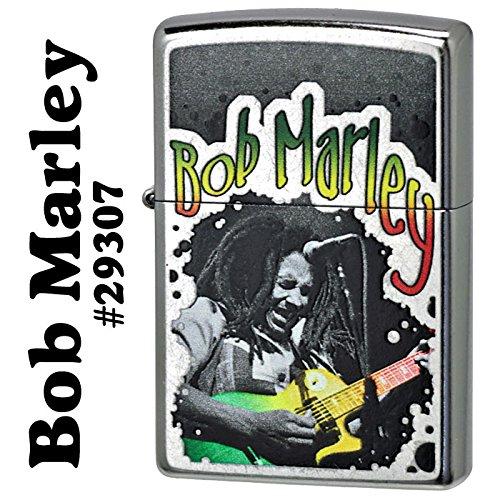 【ZIPPO】 ジッポーライター オイル ライター Bob Marley ボブ・マーリー ボブマーレー #29307 ストリートクロ−ム
