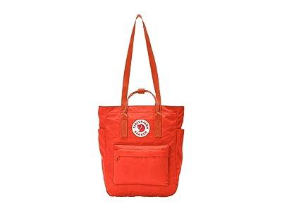 Fjallraven Kanken Totepack (Rowan Red) Tote Handbags