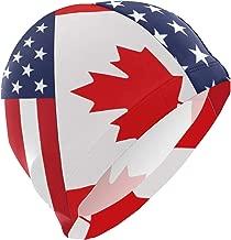 canada flag swim cap