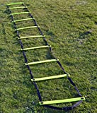 Central Speed/Agility Ladder Yellow - 4m (indoor/outdoor)