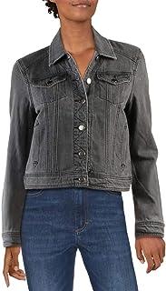 Sponsored Ad - Jak & Rae Womens Gloria Faded Cropped Denim Jacket
