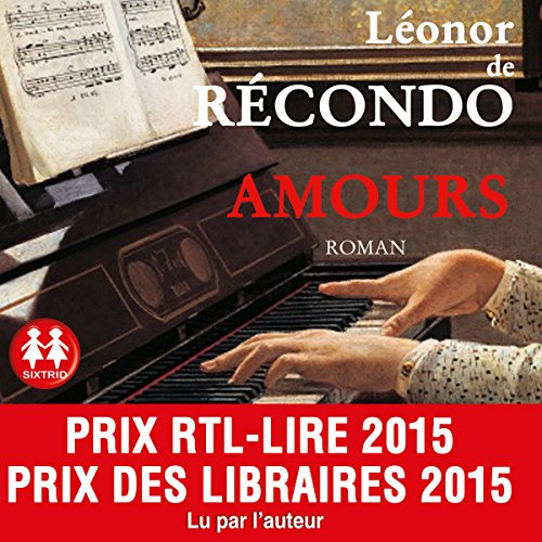 Amours audiobook cover art