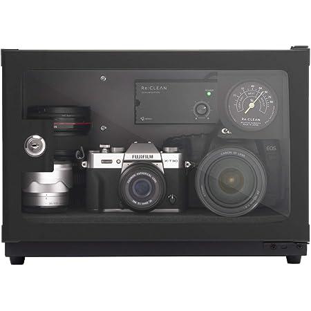 防湿庫 Re:CLEAN 日本製アナログ湿度計 カメラ用 ドライボックス 21L 5年保証 RC-21L