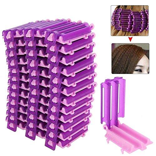 Outils de coiffure, pinces à cheveux Lady 36PCS / Box Racines Preming Accessoire de coiffage Barbers Fluffy