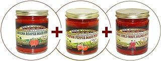 Super hot collection!!! Carolina Reaper + Scorpion + Ghost Pepper mash!