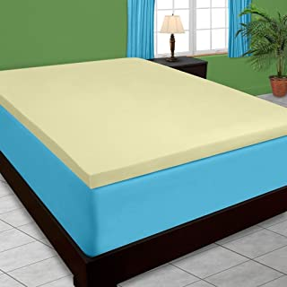 DreamDNA 2lb Full / Double Size 4 American Made Visco Elastic Memory Foam Mattress Topper