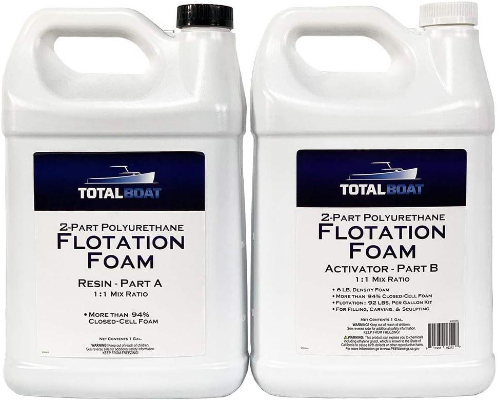 TotalBoat 6 Lb Density [Alternative dealer] Expanding Max 74% OFF Foam Cell Part Kit Po Closed 2