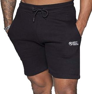 Mighty Young Threads Mens Fleece Shorts Plain Elasticated Gym Sweat Fleece Summer Running Gym Activewear Casual Jogging Short
