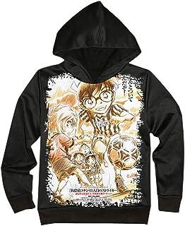 MLX-BUMU Neutral De Manga Larga con Estampado 3D De Dibujos Animados De La Serie Conan Sudadera con Capucha Sudadera con C...