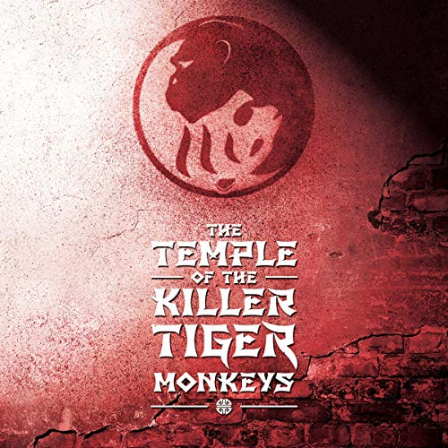 The Temple of the Killer Tiger Monkeys cover art