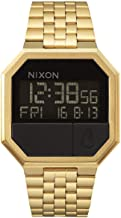 Nixon Re-Run A158. 100m Water Resistant Men's Digital Watch (38.5mm Digital Watch Face. 13-18mm Stainless Steel Band)