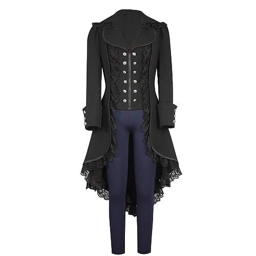 a159d0edb Black Gothic Coat: Amazon.com