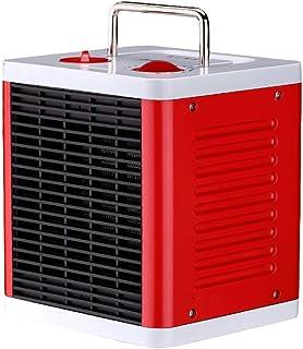 WLJQNQ Calentador eléctrico, calefacción portátil del PTC del Control de la Perilla 1500W y radiador eléctrico del ABS de la Temperatura Constante