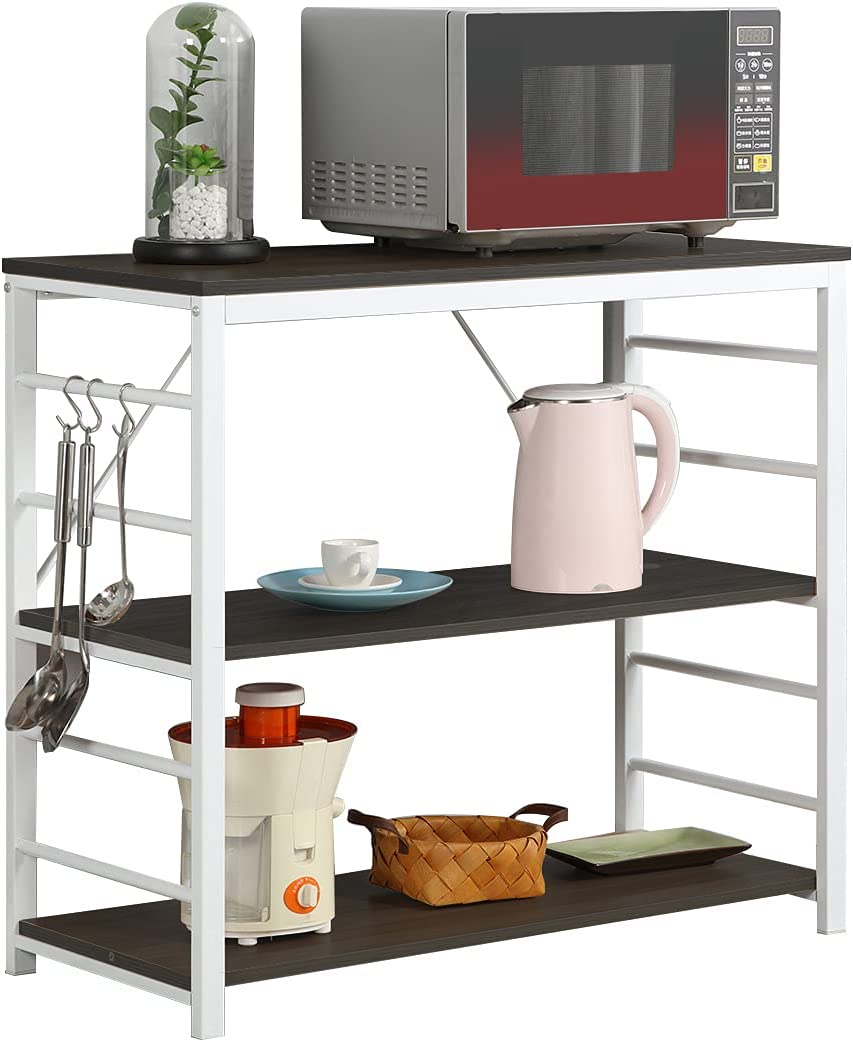 Detroit Mall SogesPower 3-Tier Kitchen Baker's Brand Cheap Sale Venue Rack St Oven Utility Microwave