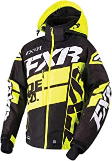 FXR Boost X Jacket Authentic ACMT HydrX Pro DVS Thermal Dry Snowmobile - Black/Hi-Vis/White - XX-Large